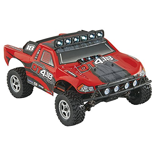 Dromida 1:18 Scale RTR Remote Control RC Car: DT4.18BL Brushless Electric 4WD DT Desert Truck with 2.4GHz Radio, 7.2V 6C 1300mAh NiMH Rechargeable Battery, 4 x AA Batteries and Charger 20c R/c Car