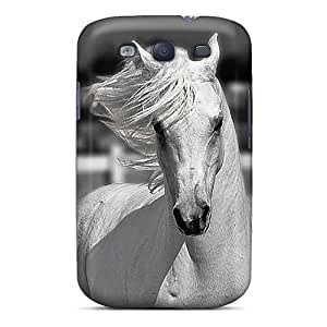 Cute High Quality Galaxy S3 White Horse Cases Black Friday