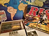 Risk 1998 Board Game With Army shaped Pieces by Parker Brothers