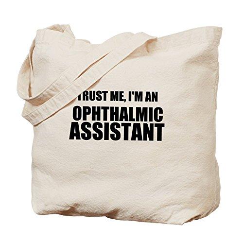 CafePress–Trust Me, im un auxiliar ocular–Gamuza de bolsa de lona bolsa, bolsa de la compra
