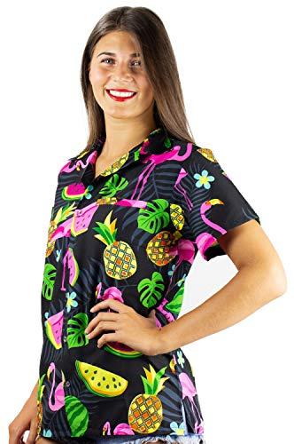 King Kameha Para Negro Camisas Mujer fOprf