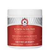 First Aid Beauty Skin Rescue Blemish Patrol Pads, 60 Count