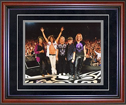 Aerosmith Unsigned Framed 8x10 - Unsigned 8x10 Photographs Framed