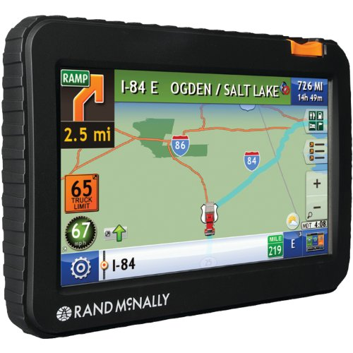 Rand McNally TND 720 IntelliRoute Truck GPS with Lifetime Maps