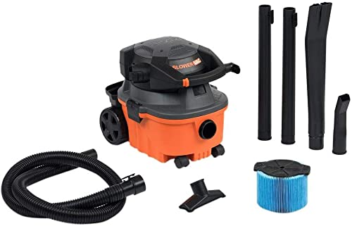 4-gal. Wet Dry Vacuum with Detachable Blower