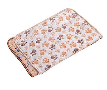JUNGEN Pet Tapis Rectangle Cushion Bed Mat Tapis de Chien Pouf Daybed Cushion Cover Velours de corail Tapis Puppy Kitten