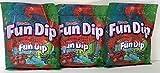 Lik-m-aid Fun Dip 3.01oz Bag (Pack of 3 - Total 9.03oz)