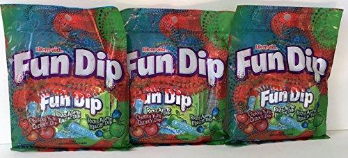 (Lik-m-aid Fun Dip 3.01oz Bag (Pack of 3 - Total)