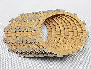 Motocicleta partes alta calidad oro disco de fricción ajuste Kit de discos de embrague para SUZUKI GSXR1000 2005 - 2008 GSXR600/750 2006 - 2009: Amazon.es: ...
