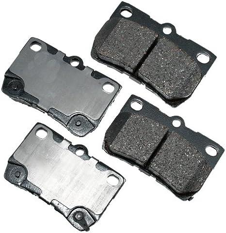 Disc Brake Pad Set-ProACT Ultra Premium Ceramic Pads Front Akebono ACT1210