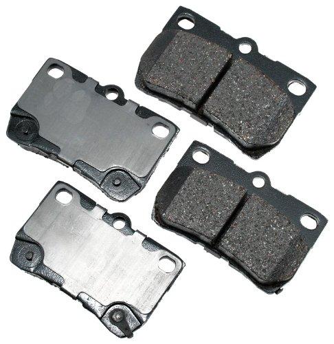 Akebono ACT1113 ProACT Ultra-Premium Ceramic Brake Pad -