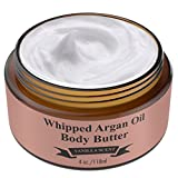 Whipped Argan Oil Body Butter Cream – Make Your Skin Soft & Silky Smooth – Made With Argan Oil Which Has Restorative And Antioxidant Properties – No Parabens – (Vanilla) For Sale