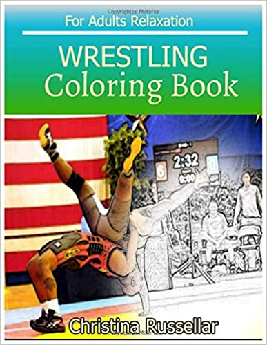 Amazon.com: WRESTLING Coloring Book For Adults Relaxation ...
