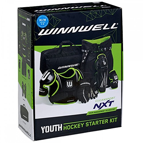 - WINNWELL NXT YOUTH HOCKEY STARTER KIT (Large)