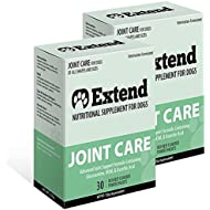 Extend Joint Care Natural Glucosamine with MSM for Dogs, 2 Box