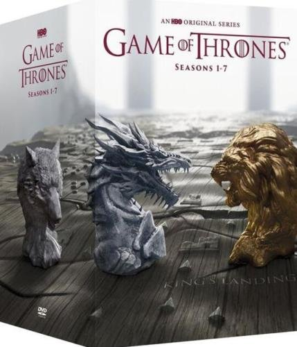 Game of Thrones: The Complete Series Seasons - (DVD, 2017 34-Disc Box Set)