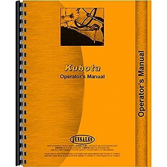 Amazon operators manual for kubota b5200d b6200d b7200d tractor operators manual for kubota b5200d b6200d b7200d tractor 4 wheel drive fandeluxe Image collections