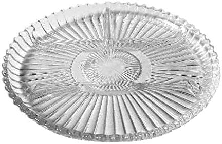 Vintage Divided Glass Relish Plate