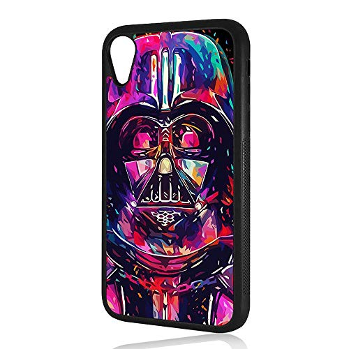 - (for iPhone XR) Durable Protective Soft Back Case Phone Cover - HOT30270 Starwars Darth Vader