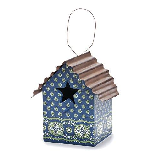 DEMDACO Bandana Print Bird House, (Best Creative Co-op Bird Houses)