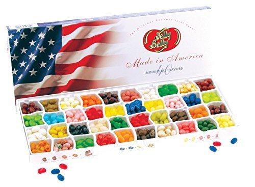 Jelly Belly 40 Flavor Jelly Bean Patriotic Gift Box
