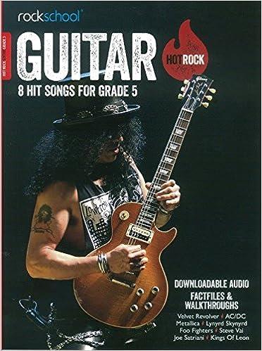 ROCKSCHOOL HOT ROCK GTR GR5 BK AUDIO: Amazon.es: Various: Libros ...