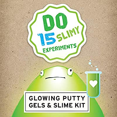Glowing Putty Gels and Slime Chemistry Kit | Do 15 slimy experiments | Safe & non toxic | Made in the USA | Copernicus Toys: Industrial & Scientific