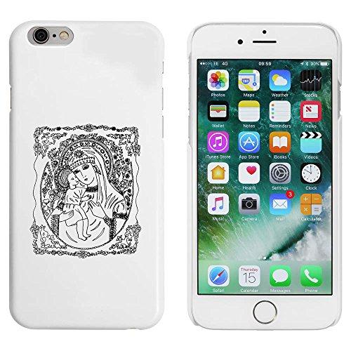 Weiß 'Madonna & Kind' Hülle für iPhone 6 u. 6s (MC00032398)