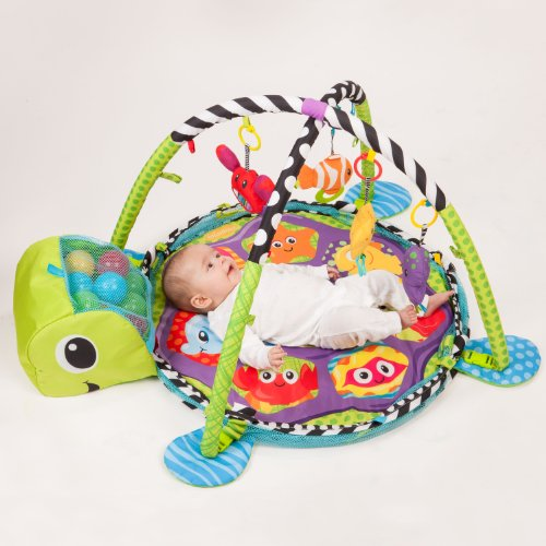 Infantino Grow-with-me Activity Gym and Ball Pit 7