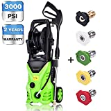 Meditool MT5 Electric Power Pressure Washer, 3000 PSI 1.76 GPM...