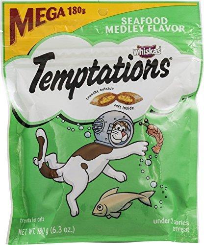 Temptations Cat Care & Treats Seafood Medley
