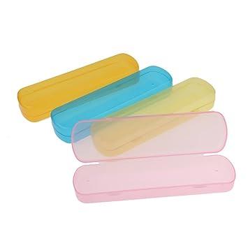 dreammy portátil viaje cepillo de dientes transparente Caso cepillo de dientes Pasta de dientes Mondadientes Caso Caja Caja de lavado para exterior: ...