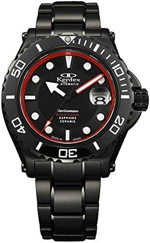 [ケンテックス] 腕時計 MARINEMAN(マリンマン) シーホース200 限定 S706M-03 ブラック