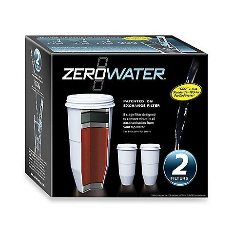 Zerowater Replacement Filters for Pitchers (2 Pack) ()