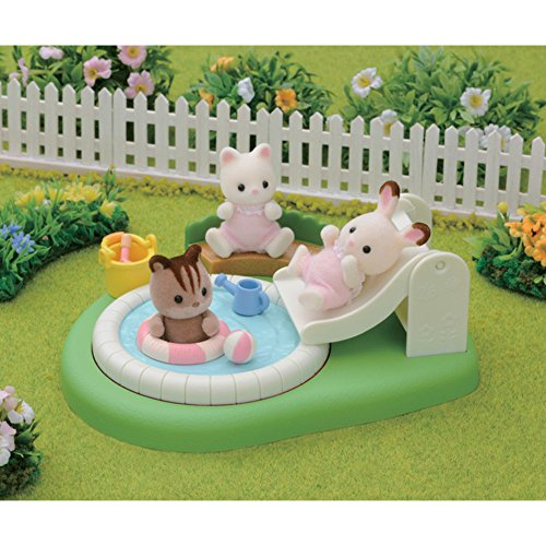 Calico Critters Baby Pool And Sandbox Import It All