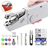Yibaision Handheld Sewing Machine Portable Mini Small Sewing Machine Stapler Cordless for Quick Stitch Beginners