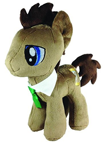 4th Dimension My Little Pony - Dr. Hooves - Cool Eyes Plush Toy, - Pony Little 4th My Dimension