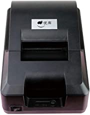 58Mm Thermal Printer USB Interface Without Carbon Tape Carbon Water Cartridge for Supermarket/Clothing Cash Register