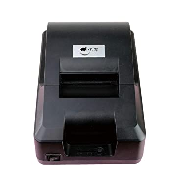BAIYI Interfaz USB de Impresora térmica de 58 mm sin ...