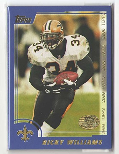 2000 Topps Collection Football Team Set - NEW ORLEANS SAINTS 2000 Topps Collection