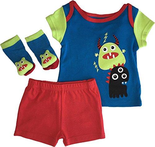 Nuby Monster Rattle Socks Shorts