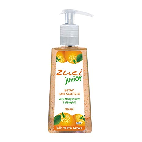 Buy Zuci Junior Orange Hand Sanitizer 250 Ml Online At Low