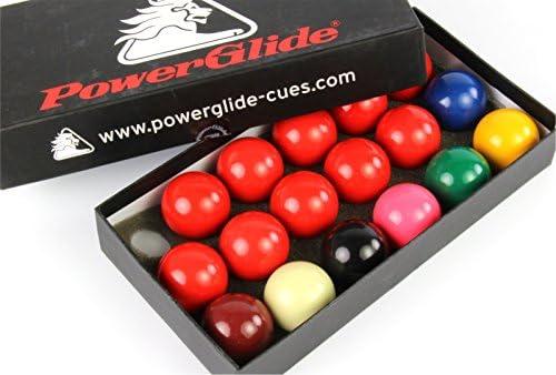 GENUINE Powerglide 44 mm Junior 17 bolas de billar juego de bolas ...