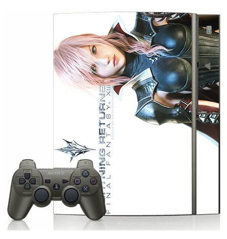 Lightning Returns: Final Fantasy XIII PS3 Limited Edition Game Skin for Sony Playstation 3 Console (Lightning Returns Final Fantasy Xiii Limited Edition)