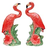 Cg Collectible Salt and Pepper Figurines with Flamingos, 2'', Pink (SS-CG-48512)