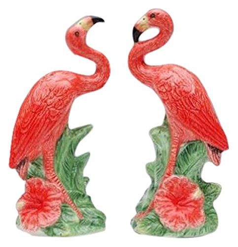 "CG Collectible Salt and Pepper Figurines with Flamingos, 2"", Pink (SS-CG-48512)"