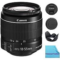 Canon EF-S 18-55mm f/3.5-5.6 IS II SLR Lens (White Box) For EOS 40D Digital SLR Camera