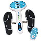 AccuRelief Ultimate Foot Circulator with Remote with EMS for Muscle Pain, Diabetic Neuropathy, Swollen Ankles & Swollen Feet