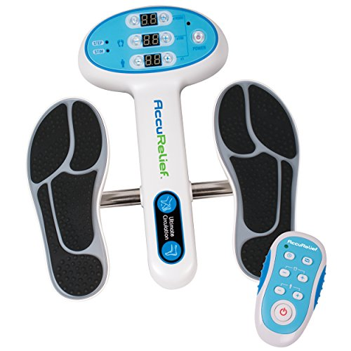 AccuRelief Ultimate Foot Circulator with Remote, with EMS for Muscle Pain, Diabetic Neuropathy, Swollen Ankles, Swollen Feet by AccuRelief
