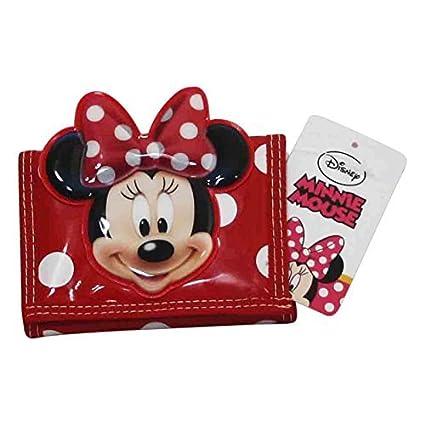 Disney Minnie Billetero Monedero Bolsillo Infantil: Amazon ...